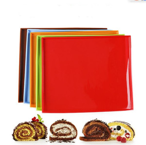 Non Stick Silicone Baking Mat Multi Function Swiss Roll Dough Pad Anti Skid Rectangle Kitchen Accessories Healthy
