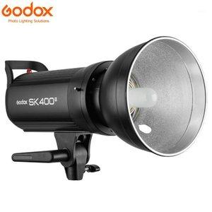 Мигает GoDox SK400II Профессиональные компактные 400WS Студия Студия Стробное Света встроенный 2,4 г Wireless X System GN65 5600K1