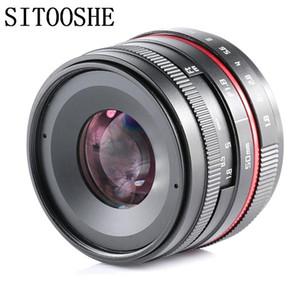 50mm f1.8 APSC-C Руководство Prime Focus Lens для SONY Canon Nikon E Mount Micro M4 / 3 Fujifilm FX Pentax Samsung камер