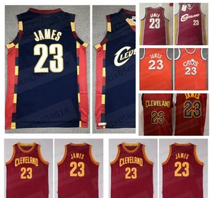 Erkekler LeBron 23 James Basketbol Jersey ClevelandParke klasikleri