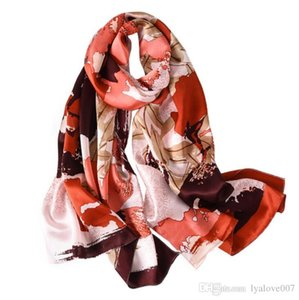 2019 Hot designer scarf women Letter shawl scarf fashion long neck ring Christmas gift Scarves wholesale S12