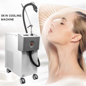 Yeni popüler ekipman zimmer cryo çiller hava soğutucu Lazer tedavisine cilt sistemi / makine soğutma cilt soğutucu makinası