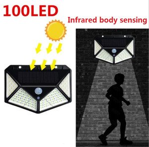 outdoor Yarn Garden wall lamp lights 100 LED solar interaction lamps waterproof street lamp portable mini camping flashlights torches