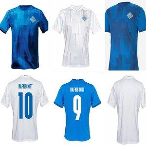 Top Quality2020 2021 Islande National Team Soccer Jerseys 20 21 G Sigurdsson Sigthórsson E Gudjohnsen Hommes Chemises de football adultes Uniformes