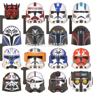 Single sell Movie Series CLONE Force 99 BAD BATCH ECHO Maul Bo Katan Action Figures Accessories Helmet Building Blocks Toys Gift