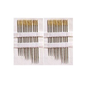 12Pcs set Elderly Needle-side Hole Blind Needle Household Sewing Stainless Steel Hand Sewing Needless Threading Apparel Sewing