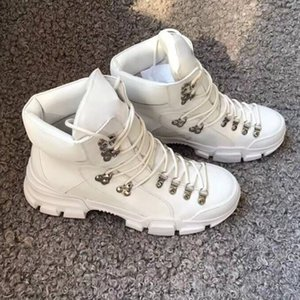 Flashtrek Ankle Boots Mens Sneakers Winter Boots White Black Chunky Shoe Martin Boots Fashion Outdoor Shoes With Box ct4