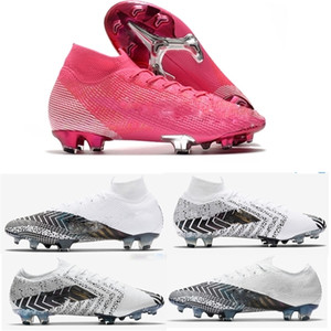 Kadınlar Çocuk Mercurial Elite 13 FG Neymar Ronaldo Hızlı Teslimat Erkek FG Futbol Profilli En ucuz Futbol Ayakkabı Erkek Futbol Çizme