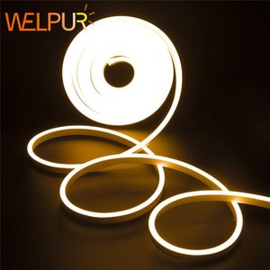 Dc 12v Strip Led Light Waterproof Smd 2835 Flexible Led Neon Lights For Home Decoration Warm White 1m 2m 5m Neon Strip jllJeG sinabag