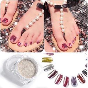 MYBORMULA nail art glitter phosphor luminous powder coating nails accessoires decoration 1 pcs Chrome Pigment DIY Powder Shining