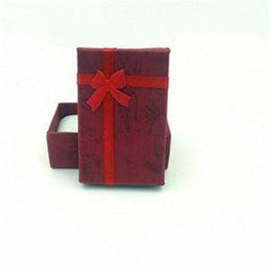 5x8cm Exquisite Boîte universelle Boîte à bijoux Auriculaire à aiguilles en papier Texture de la texture de la texture de papillon Bowknot de papillon 0 46xn B2