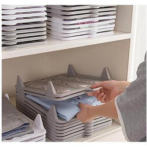 Creative T Shirt Clothes Organizer Closet Storage Travel Clothes Organization System Tshirt Folding Board Ho wmtpGV homes2011