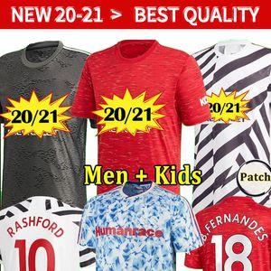 Spieler Version 20 21 FC Manchester Bruno Fernandes Pogba Fussball Jersey 2020 2021 Lingard Rashford Football Hemden Mankids Football Kits