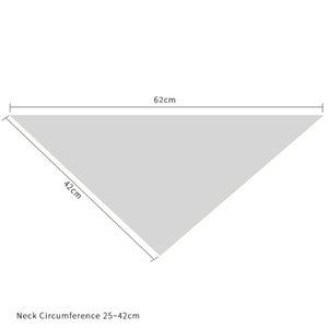 Счастливой Пасхи Домашние животные Треугольники Нагрудники Однослои хлопчатобумажные Плед Собака Cat Bandana 42 * 42 * 60см Пасхальные питомцы Scarf ZZC3532