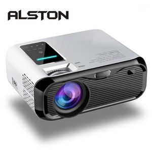 ALSTON E500 LCD Projector 3500 lumens Support 1080P Home Theater Beamer VGA AV TF USB1