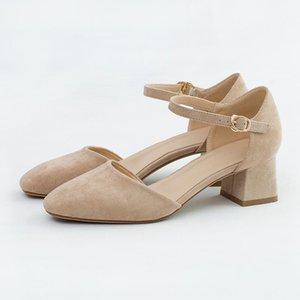 Mary Jane Blok Topuk Ayakkabı Düğün Ayakkabı Kadınlar Fetiş Yüksek Topuklu Moda Zapatos Fiesta Mujer Elegante Calzado Mujer