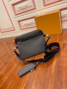 الأزياء pochette الثلاثي الرجال M69443 النساء المصممين الفموي حقائب جلدية حقيبة رسول حقيبة crossbody حقائب الكتف حقائب محفظة محفظة