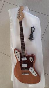 Customized Großhandel neue Jaguar E-Gitarre in Mahagoni Top-Qualität aus Naturholz, bietet maßgeschneiderten Service, kostenloser Versand