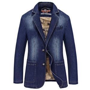 Новая осень джинсовая ветровка плюс азиатский размер M-4XL военные джинсы куртки пальто мужчины Slim Fit Chamararas Para Hombre