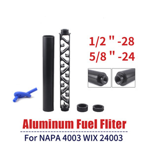 Fuel Filter Solvent Trap 6 Inch 10 Inch NEW Spiral 1 2-28 5 8-24 Single Core Car Fuel Filter for NAPA 4003 WIX 24003 Fuel Filters