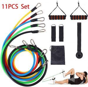 Resistance band set pull rope exercise sports yoga pull belt resistance tube kit elastic rope fitness training exercise 150 lbs1