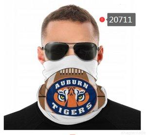Gesicht NCAA Auburn Tiger Nahtlose Hals Gaiter Schild Schal Bandana Masken für Motorrad Radfahren Reiten Running X9