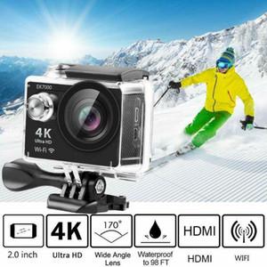 16 Millones de sensor COMS Cámara Pixel HD de disparo de alta definición cámara digital resistente al agua Lente gran angular digital de fotografía y vídeo