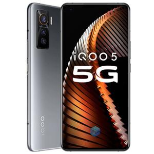 """Оригинальный Vivo iQOO 5 5G Мобильный телефон 12GB RAM 128GB 256GB ROM Snapdragon 865 окта Ядро Android 6,56"""" 50MP AR Face ID Fingerprint сотовый телефон"""