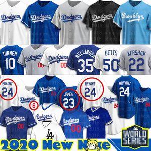 Dodgers di baseball Maglie Mookie Betts 8 24 Bryant KB Black Mamba Los Angeles Cody Bellinger personalizzato Justin Turner Clayton Kershaw Hernandez