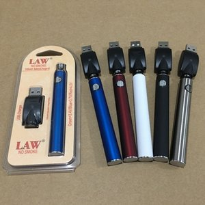 Law Preheating VV Battery Charger Kit 1100mAh PreHeat O Pen Bud Touch Variable Voltage Vape Battery 510 thread E-cig For Thick Oil Cartridge