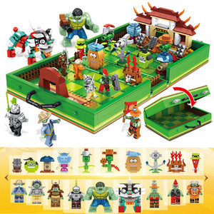 2020 Creator Game Series City 1206PCS Plants vs Zombies Plants War box Building Blocks Model Sets Bricks For Kids Toys Gift