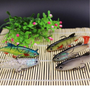 1pcs Fishing Lure Head Lead Soft Lure Tail Wobblers 7.8cm 12g Sile Artificial Bait With Weight Soft Bait Five-co bbywMf