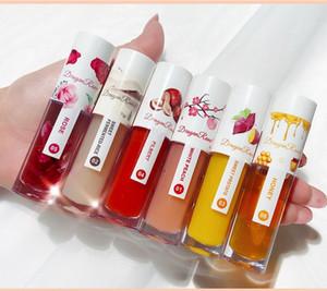 TEAYASON Lip Balm Oil Transparent Moisturizer Fruity Flaor And Honey Lip Gloss Anti-Drying Long Lasting Lip Balm
