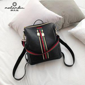 Женщины рюкзак британский стиль дамы многофункциональный Crossbody сумка досуг путешествие дикий кожаный рюкзак подарок 333