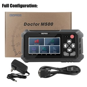 Master Locksmith OBDPROG M500 OBD2 Odometer Correction Tool Professional Oil Reset OBD2 Scanner Mileage Adjustment Car Diagnostic Tool