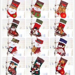 Wholesale New Christmas socks decoration supplies Santa socks Soft Fluffy Cozy Bed Socks Casual Winter Warm Christmas Gift