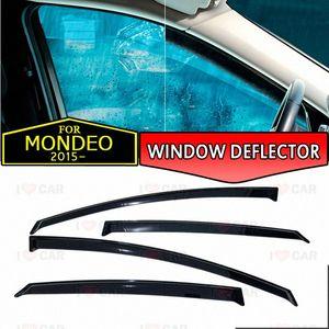 deflector janela para Ford Mondeo janela do carro 2015- carro cobertura de guarda deflector de vento de ventilação sol chuva viseira estilo de decoração rP2l #