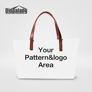 Dispalang Designed by yourself Personality Womens Handbags Customized Lady Top Hand Bag Girls Messenger Bag Uniquie Shoulder