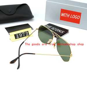 designer Women Fashion Men Sunglasses Pilot Polarized Brand Sunglasses UV400 Eyewear Bans Glasses Metal Frame Polaroid Lens With JJYY 3oGIH