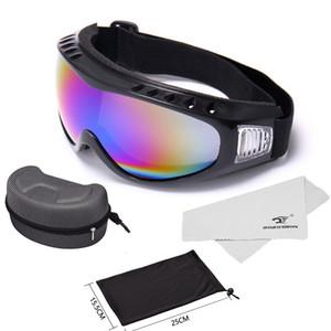 2019 Winter Skiing Goggles Sports Snowboard Anti-fog Snowmobile Windproof Dustproof Glasses Uv400 Skate Ski Eyewear