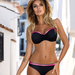 New Fashion in 2021 Sexy Women's Bikini Triangle Two Piece Set