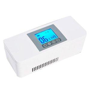 Portable Car Refrigerated Box Pwerful Refrigeration Refrigerated Box Refrigerator A1 Upgrade Version Car Use CY