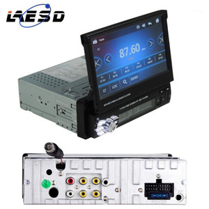 """LAESD 1 Din Car Radio Bluetooth Stereo Audio 7"""" HD Touch Screen Support Rear View Camera Monitor MP5 Player SD FM USB Autoradio1"""
