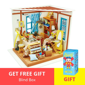 Dg101 Drop Miniature Tailor Shipping Furnitures Diy House Wooden Toys Lisas Dollhouse Robotime Model Doll Building Kits With bbybfR homebag