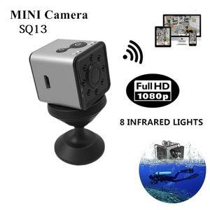 SQ13 HD WIFI البسيطة كاميرا 1080P زاوية واسعة للماء MINI كاميرا DVR فيديو استشعار الحركة مسجل للرؤية الليلية مايكرو كاميرات
