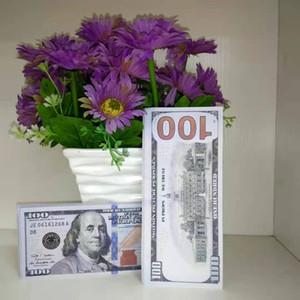 Nouveau dollar américain Hot Sales Sales Prop Banknote de Banknote 100 Dollars Fake Money Bar PROP ARGENT Jeux Collection Cadeaux 33