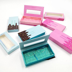 2021 New Butterfly Mink Eyelash Box False Eyelashes Packaging 25mm Mink Eyelashes Box Empty Lash Case Custom Logo Eyelash Box Gift Case