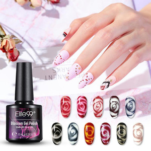 Elite99 10ml Blossom Gel Polish Drawing Nails Gel Polish Soak Off UV LED Flower Blooming Effect Paint Nail Art DIY Manicure