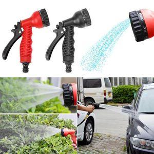 High Pressure Gun Sprinkler Nozzle Adjustable Garden Hose Car Water Spray Gun Car Wash Hose Garden Water Gun Car Clean Tool T200530