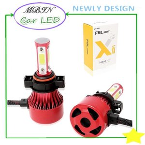 On sale MBIN M4 4 sides lights 5202 12000LM 72W led headlight kit plug and play driving lamp front fog light bulb1